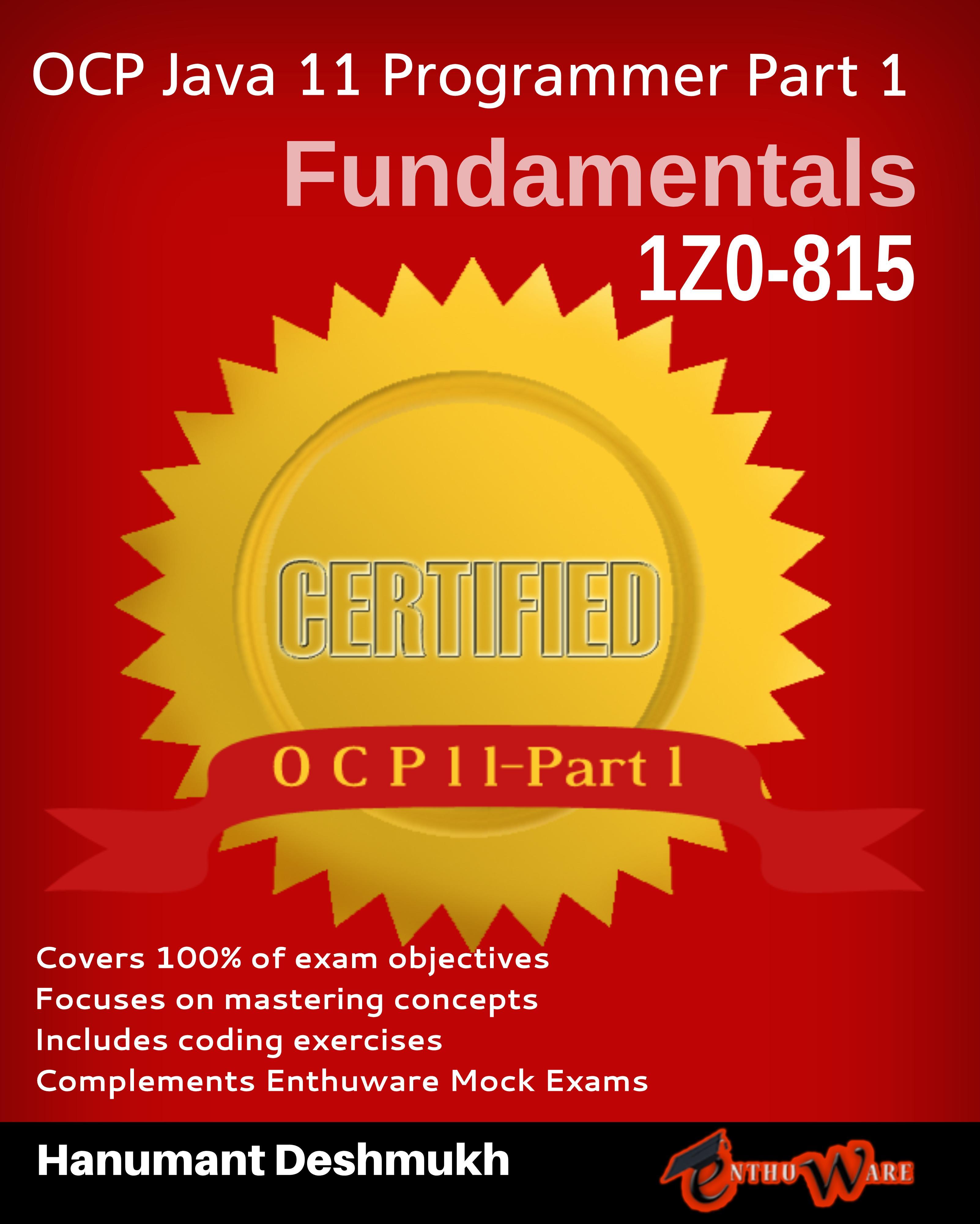 OCAJP/OCPJP Resources