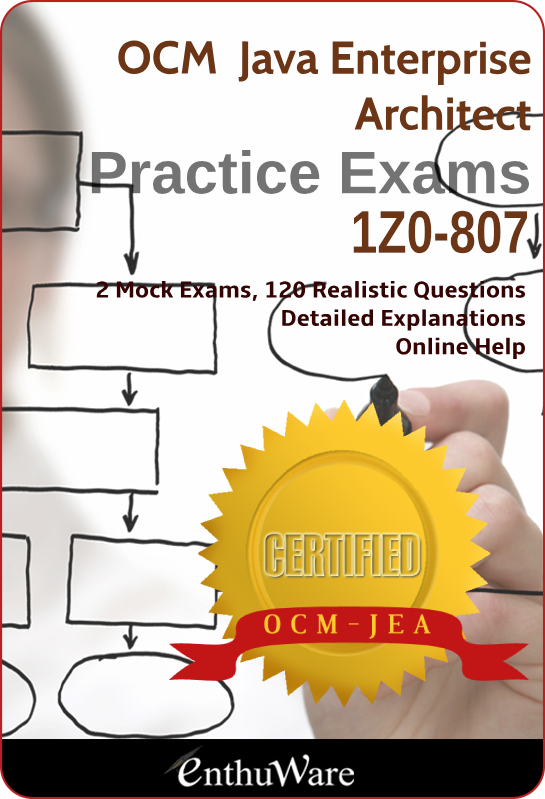 Java Ee 6 Enterprise Architect 1zo 807 Jarch 1z0 807 For Ocm