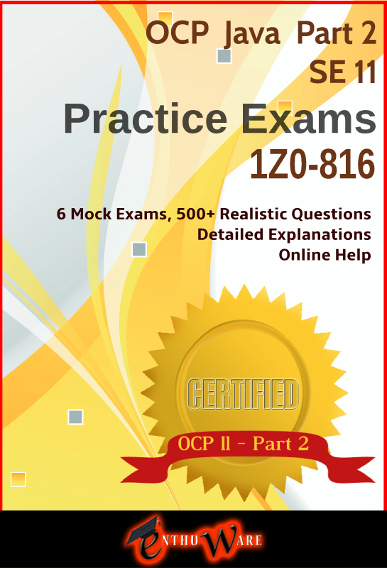 1Z0-816 mock exams for OCP Java 11 Certification