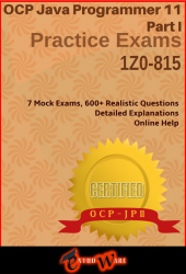 JQ+ I V11 for OCP-JP 11 Part 1 (Exam Code: 1Z0-815)