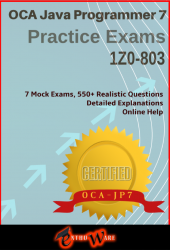 JA+ V7 for OCAJP7 (Exam Code: 1Z0-803)