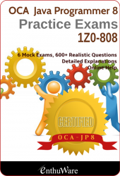 JA+ V8 for OCAJP8 (Exam Code: 1Z0-808)