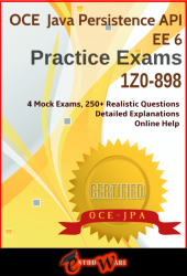 JPA+ V6 for OCEJPA6 (Exam Code: 1Z0-898)