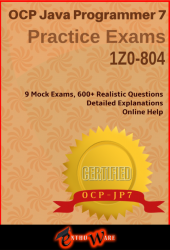 JQ+ V7 for OCPJP8 (Exam Code: 1Z0-804)